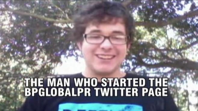 VIDEO: ABCs Jeremy Hubbard chats with the star of the satirical BP Twitter account.