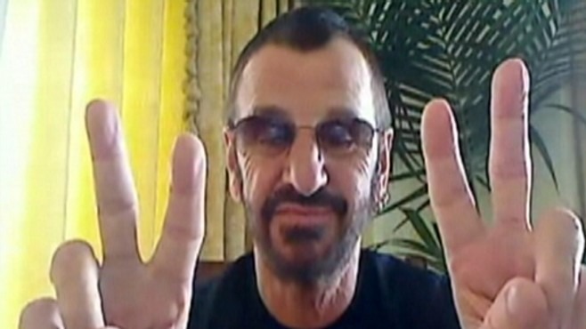 Ringo Starr Celebrates Birthday, But Dont Ask Him to Sing