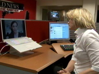 VIDEO: Diane Sawyer chats with ABC Producer Melia Patria in Santiago Chile
