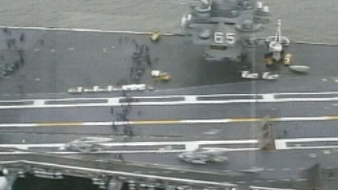 VIDEO:Naval Commander Under Fire