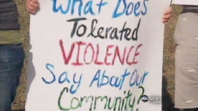 VIDEO: City cites bankruptcy as reason for repealing law against domestic violence.