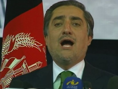 VIDEO:Abdullah Drops Out; Karzai to Run Unopposed