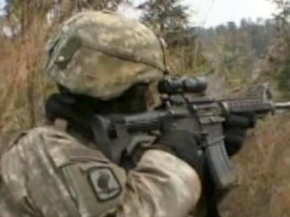 VIDEO: Intense Firefight in Afghanistan