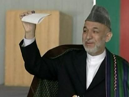 VIDEO: Karzai Wins Presidency as Afghan Runoff Is Cancelled