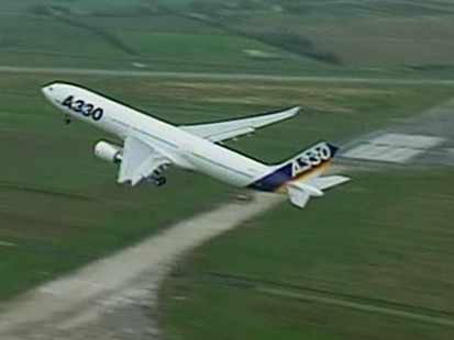VIDEO: Airspeed alert for airbus planes