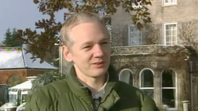 VIDEO: Julian Assange deals with the media backlash in his high profile case.