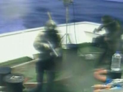 VIDEO: Israel Attacks Ships Bringing Supplies to Gaza Strip