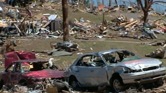 VIDEO: Tornadoes in the South
