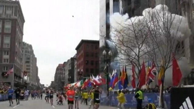 VIDEO: At least two dead and dozens injured when bombs go off near finish line.