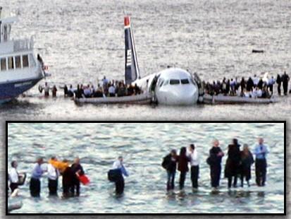 VIDEO: Plane crash in Hudson River