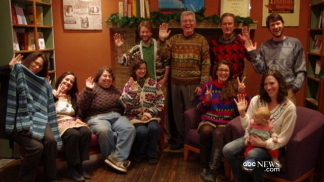 VIDEO: Anne Marie Blackman makes the tackiest Christmas sweaters ever.