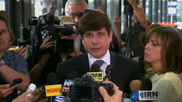 VIDEO: Former Illinois governor convicted on several counts in retrial.