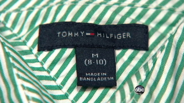9edf5a61 Worker Deaths at Factory for Hilfiger Clothes Video - ABC News