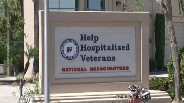 VIDEO: Help Hospitalized Veterans accused of using donations for golf, big salaries.