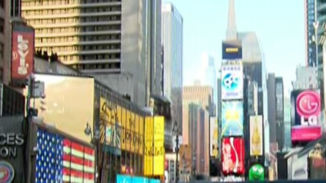 Times Square Was Next Stop for Accused Bombers, Mayor Says