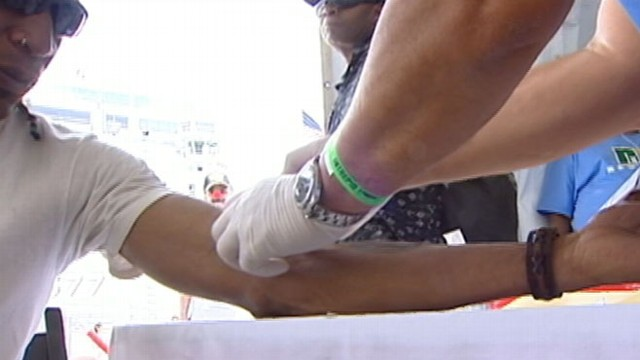 VIDEO: A government task force recommends that men skip the blood test.