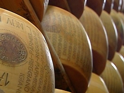 VIDEO: Parmesan Cheese Secures Italian Bank Loans
