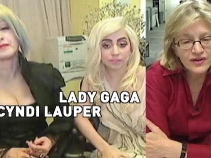 VIDEO: Diane Sawyer chats with Lady Gaga and Cyndi Lauper.