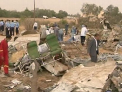 VIDEO: Plane crashed as it approached the runway, killing all but one passenger.