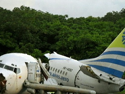 VIDEO: Plane Breaks Apart During Flight