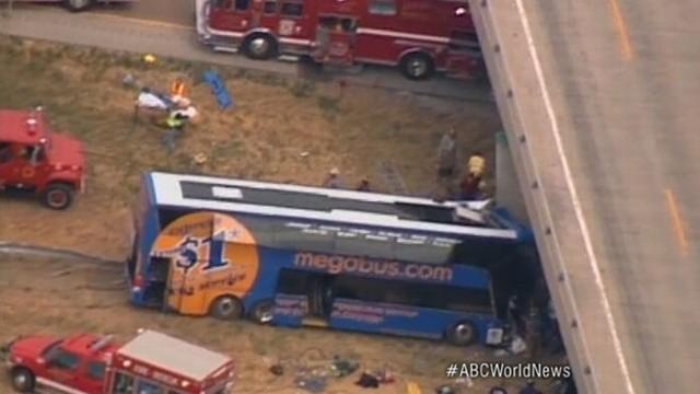 Megabus Crash in Illinois on Interstate 55
