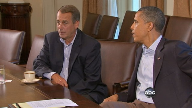 VIDEO: President Obama and Congressional leaders face increased pressure to reach deal.