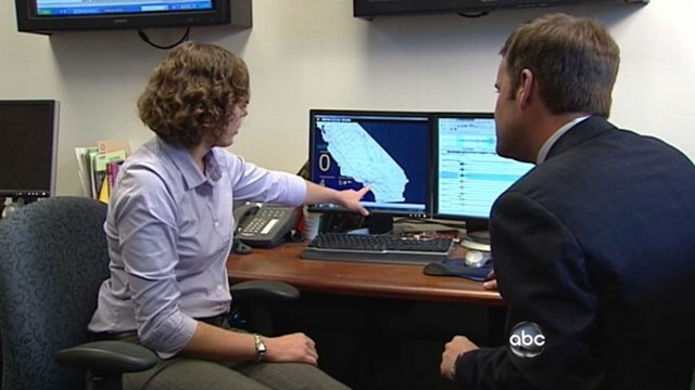 VIDEO: California seismologists test a warning system that saved lives in Japan quake.