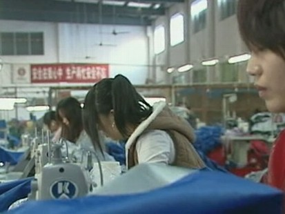 VIDEO: Many Chinese People Leave Their Families to Work in Factories