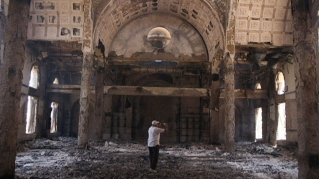 VIDEO: Following the military crackdown, churches have been looted and burned.