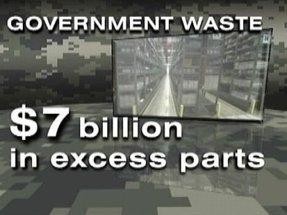 VIDEO: Martha Raddatz on a new GAO report showing billions of dollars being wasted