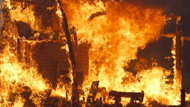 Fire Disaster in Oklahoma