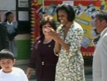 VIDEO: Michello Obama Takes a Trip to Mexico