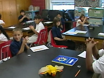 VIDEO: Swine Flu prep and panic at schools