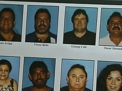 VIDEO: City Officials Arrested in California