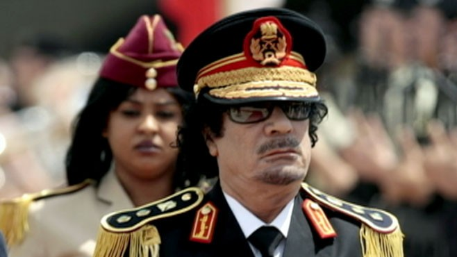 VIDEO: Martha Raddatz profiles the Libyan leader.
