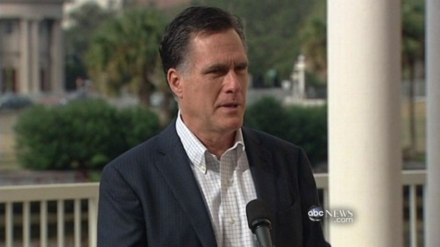 VIDEO: Mitt Romney looks to next primary after losing South Carolina to Newt Gingrich.