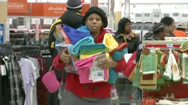 VIDEO: Retailers looking to cash in on higher consumer spending offer great deals.