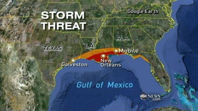 VIDEO: New Orleans braces for rain and flooding.