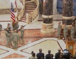 VIDEO: Transfer of Camp Victory reflects continuing U.S. withdrawal from Iraq.
