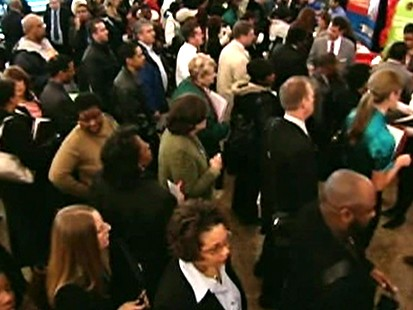 Employers cut 539,000 jobs in April, less than analysts had projected.
