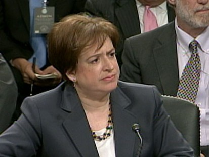 VIDEO: Elana Kagan justice will be the fourth woman to serve on the high court.