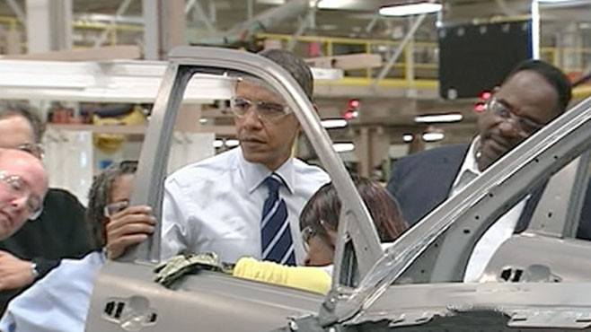 should obama bail out the auto industry essay As teachers staged a sickout that closed detroit schools, president obama took a victory lap in the city wednesday, bragging about his administration's bailout of the auto industry in 2009 and chiding republicans for opposing it.