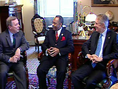 VIDEO: Roland Burris may get Senate seat.