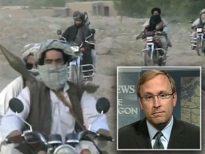 ABCs Jonathan Karl pictured with Afghani Militants