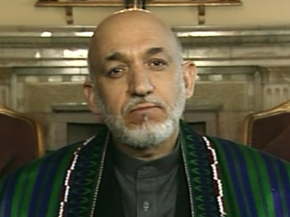 VIDEO: Afghan President Karzai talks to Diane Sawyer