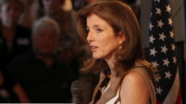 VIDEO: John F. Kennedys daughter is being considered to represent the United States.