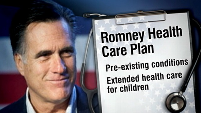 Romney Swerves on Obamacare