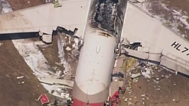 Asiana Airlines Crash Toll Is Two Dead and 181 Injured