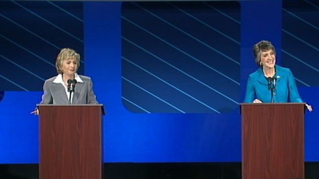 VIDEO: An election between two prominent woman has captured interest beyond California.