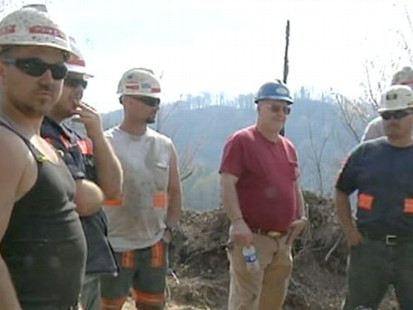 VIDEO: Rescue teams in West Virginia run into serious setbacks in their rescue efforts.